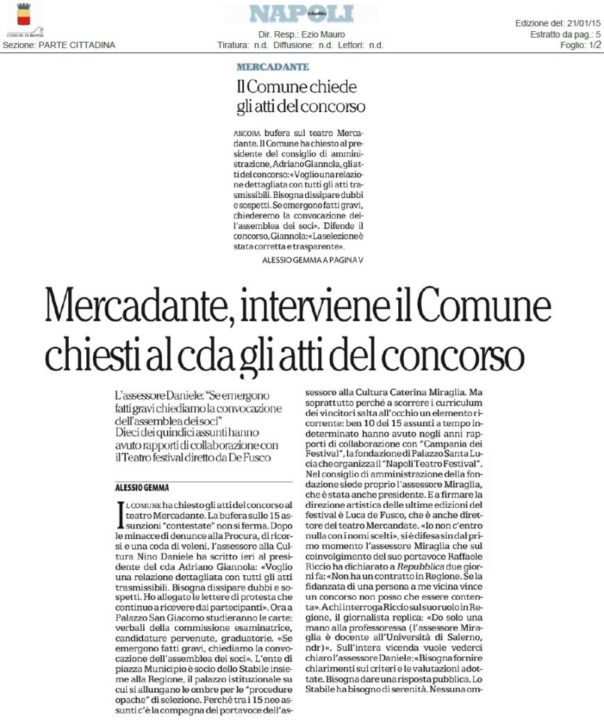 Repubblica 21-1-2015 pag. 5