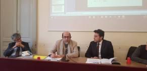 Alessandro Biamonte, il Prof. Mauro Calise